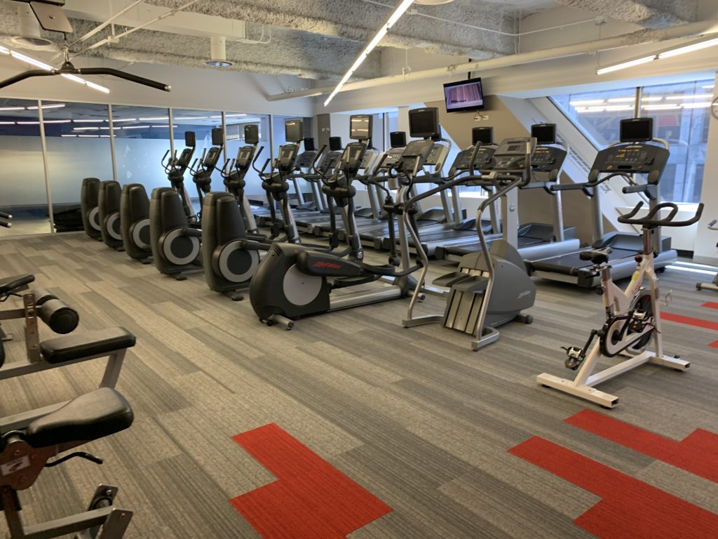 875 North Michigan Ave, Cardio area