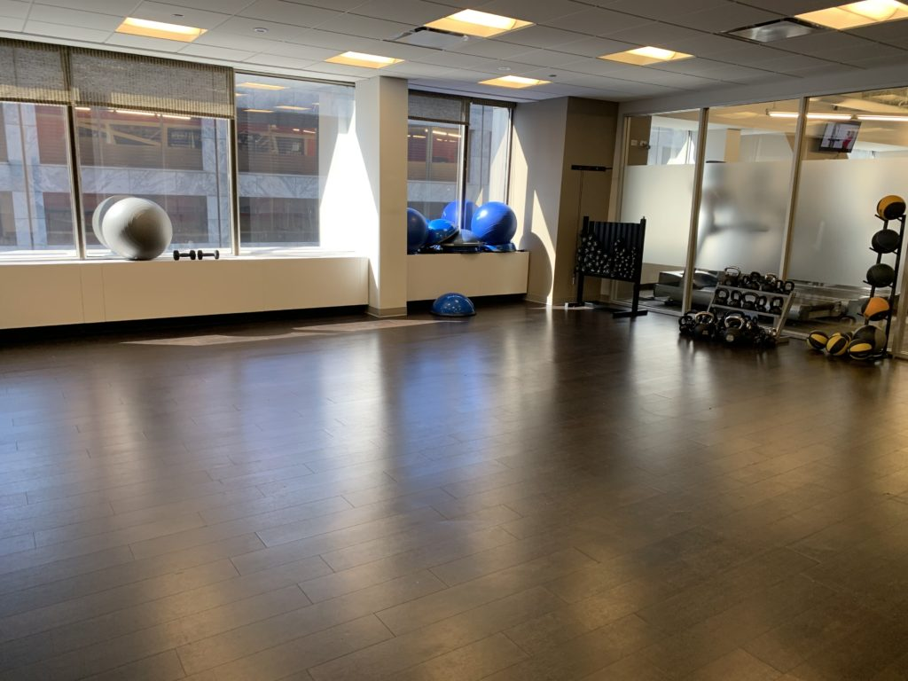875 North Michigan Ave, group fitness